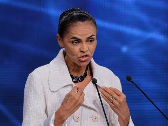 Marina Silva recebeu R$ 826.496 em contribuições individuais de eleitores - Foto: AP