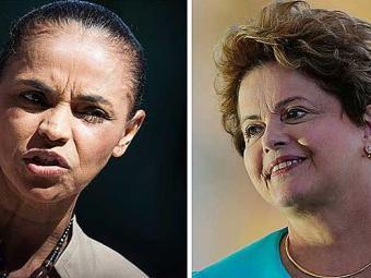 Pesquisa mostra Dilma com 40% e Marina com 24% - Foto: Bruno Santos   Agência Reuters / Ueslei Marcelino   Agência Reuters