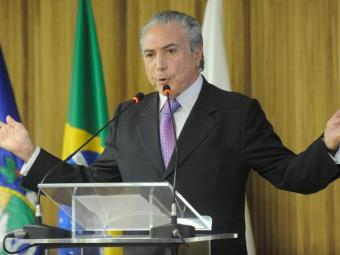 Vice de Dilma, na chapa candidata à reeleição, Temer minimiza resultado do Ibope - Foto: Tânia Rêgo   ABr   07.03.2013