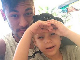Neymar e Carol são pais de Davi Lucca, de 2 anos - Foto: Instagram | Reprodução