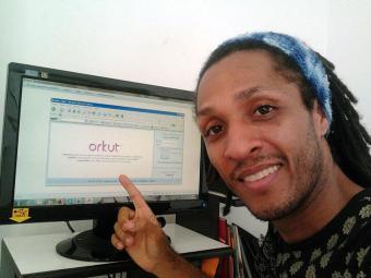 Pelo Orkut, Bruno Almeida reencontrou prima que conheceu na infância - Foto: Bruno Almeida | Foto do internauta