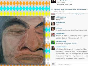 Fãs destacam traço e criatividade de Seu Jorge - Foto: Foto: Instagram