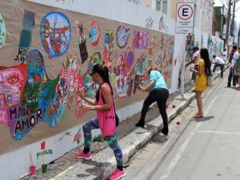 Intervenções artísticas fazem parte da programação - Foto: Divulgação | Uefs