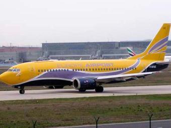 O Boeing francês 737 saiu de Split, na Croácia, e ia para Nantes, França. - Foto: Foto: Wikipédia