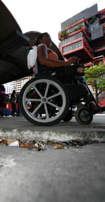 24% da população do País - que vivem com algum tipo de deficiência - Foto: Fernando Amorim/ AG. A TARDE