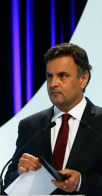 Aécio disse ainda que o legado de Dilma será o de recessão técnica - Foto: Agência Reuters