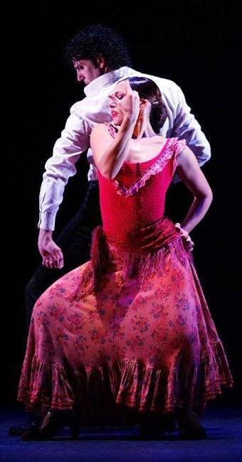 O espetáculo é inspirado no ballet El Amor Brujo - Foto: Javier Del Rea | Divulgação