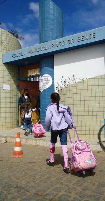 Nos anos iniciais do ensino fundamental o Ideb superou a meta em 0,3 ponto - Foto: Miriam Hermes/Ag A TARDE