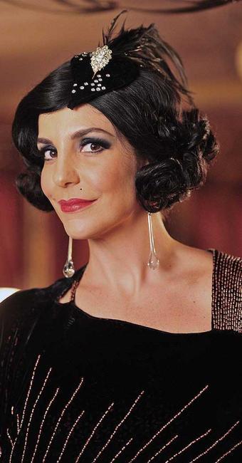 Maria Machadão, personagem vivido pela cantora baiana em 2012 na minissérie Gabriela - Foto: João Miguel Junior   TV Globo