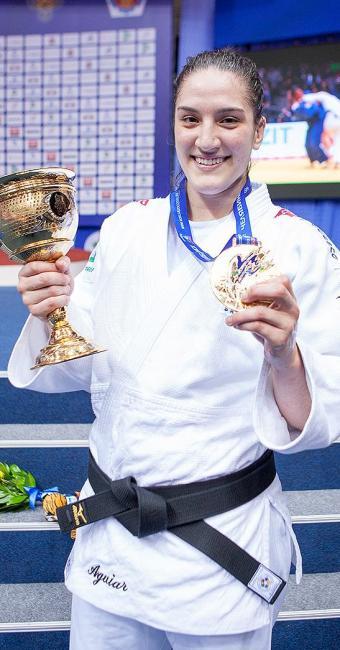 Mayra Aguiar, campeã mundial de judô na categoria meio-pesado - Foto: Divulgação l CBJ