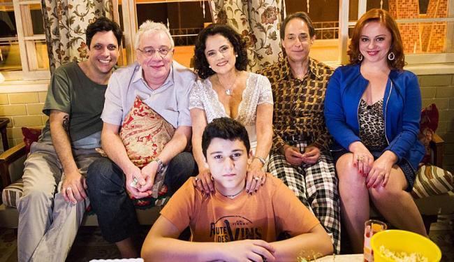 Na despedida, a criação de um seriado inspirado na família - Foto: João Miguel Júnior | TV Globo