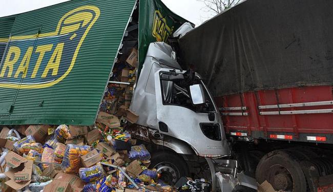 Acidente aconteceu na BR 242, em Barreiras - Foto: Eduardo Lena /Nova Fronteira