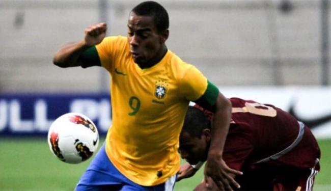 O atacante Ademilson marcou dois gols no triunfo sobre o Catar - Foto   Divulgação l c3c02a882ada3