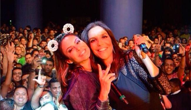 Ivete foi uma das convidadas especiais na estreia da 'Festa Bololô', de Alinne Rosa - Foto: Reprodução | Instagram