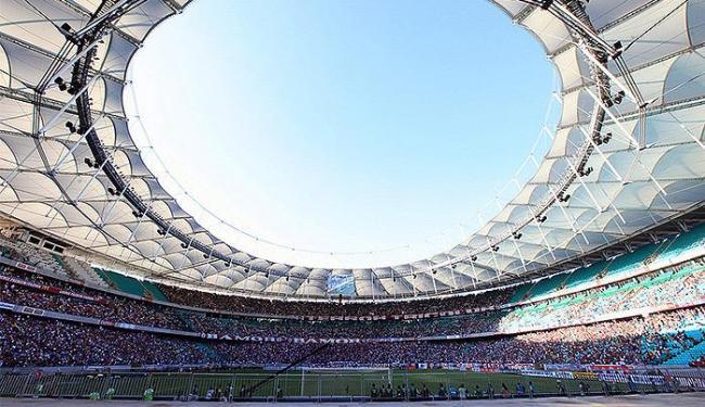 Primeiro Ba-Vi pelo campeonato brasileiro terminou empatado, 1 x 1. - Foto: Ulisses Dumas / Ag: BAPRESS.