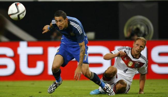 Argentina x Alemanha duelam no estádio de Duesseldorf, na Alemanha - Foto: Ag. Reuters