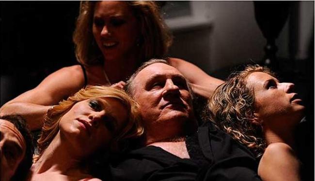 Gérard Depardieu em cena do longa