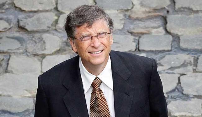 Bill Gates doou 100.000 dólares à Universidade de Manchester para usar uma tecnologia - Foto: AP Photo