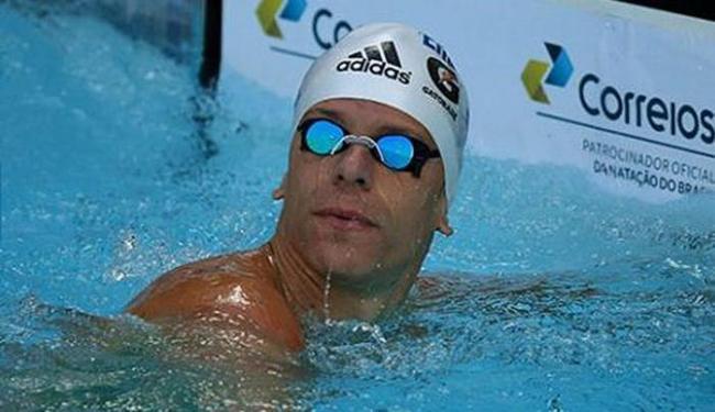 Cielo (foto) foi superado por Nicholas Santos, que é o atual campeão mundial na distância - Foto: Divulgação l CBDA