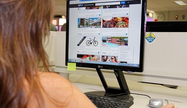 O Procon baiano registrou mais de mil reclamações sobre compras na internet - Foto: Joá Souza   Ag. A TARDE