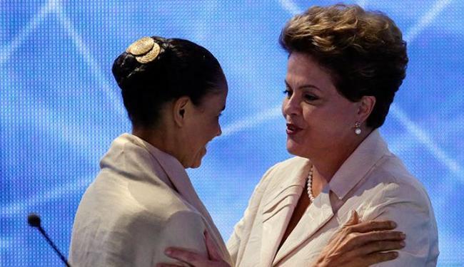 Marina e Dilma estão tecnicamente empatadas no segundo turno - Foto: AP