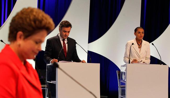 Pesquisas mostram Dilma na frente e Aécio se aproximando de Marina - Foto: Márcio Fernandes | Ag. A TARDE