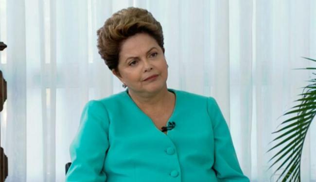 Dilma voltou a falar que Brasil enfrenta bem a crise financeira mundial - Foto: Reprodução | Rede Globo