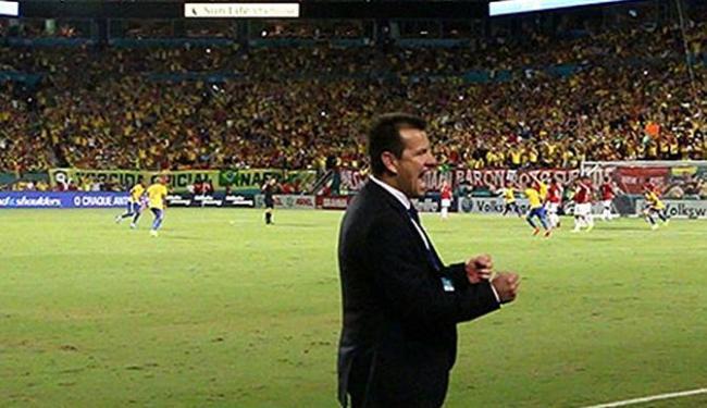 Dunga estreou como novo técnico da Seleção na sexta, nos EUA - Foto: Rafael Ribeiro l CBF