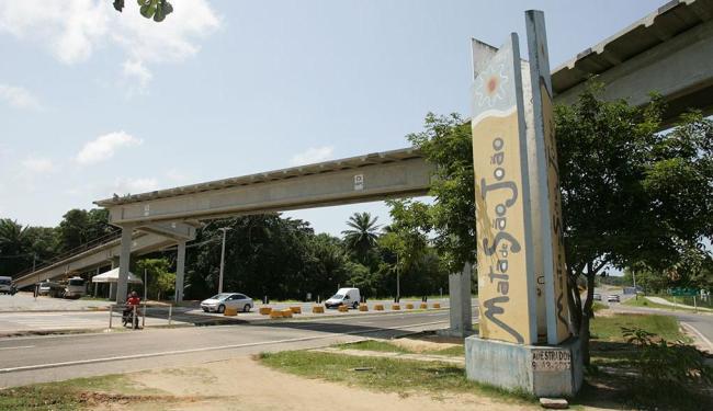 Equipamento será usado por pedestres, motociclistas, ciclistas e carroças - Foto: Luciano da Matta | Ag. A TARDE