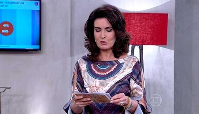Texto fala sobre o amor e momentos de superação após uma crise entre um casal - Foto: TV Globo | Reprodução
