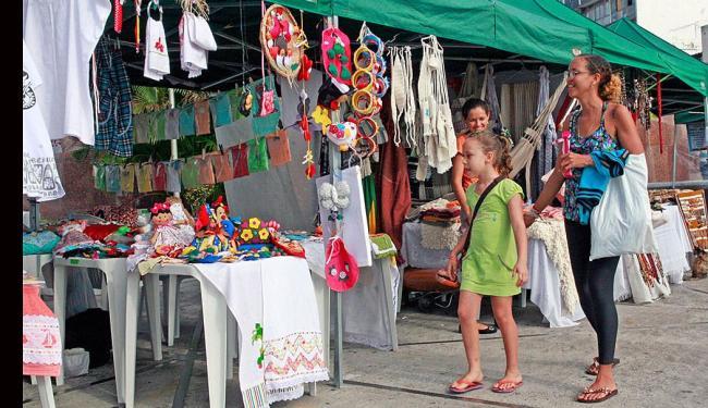 A Feira da Primavera acontece até o dia 23 de setembro com a venda de produtos artesanais - Foto: Divulgação | Marcelo Reis/Ascom SETRE
