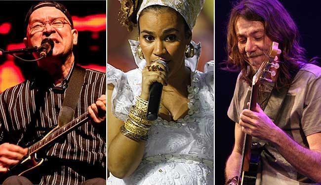 Paralamas, Mariene de Castro e Lenine são algumas das atrações do festival - Foto: Arquivo A TARDE