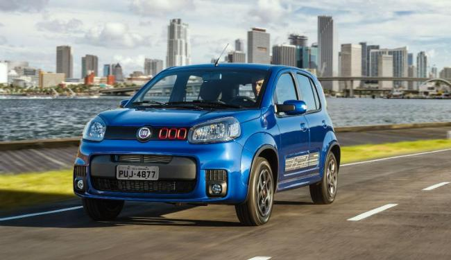 O hatch da Fiat ganha câmbio Dualogic - Foto: Fiat | Divulgação