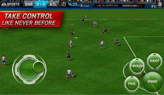 Fifa 15 é gratuito, mas é possível fazer compras dentro do jogo - Foto: Reprodução