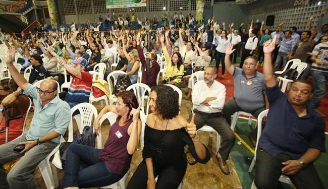 Categoria decidiu por paralisação durante assembleia nesta quinta - Foto: Manoel Porto | Divulgação