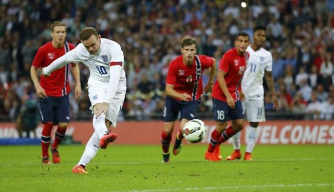 Atacante marcou o único gol da partida amistosa - Foto: Ag. Reuters