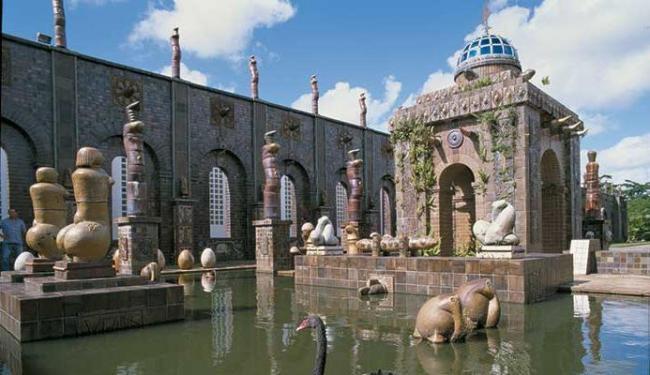 Instituto Ricardo Brennand parece um castelo medieval - Foto: Divulgação