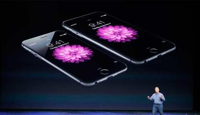 iPhones foram lançados em evento na tarde desta terça-feira, 9 - Foto: Stephen Lam   Agência Reuters
