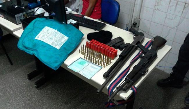 Material apreendido pela polícia durante Operação Varredura no município de Iraquara - Foto: Ascom | Polícia Militar