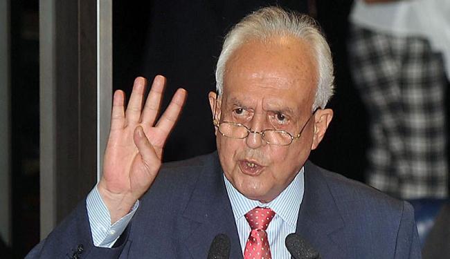 Senador do PMDB disse que crítica a Collor, aliado do PT, foi 'autofagia' - Foto: José Cruz | ABr