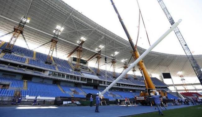 O Estádio João Havelagne receberá atletismo, uma das provas com ingressos mais caros - Foto: Sergio Moraes   Ag. Reuters