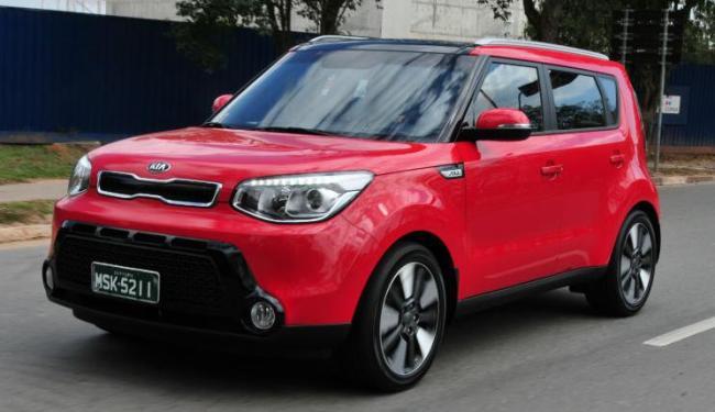 O novo crossover compacto da Kia Motors foi redesenhado no estúdio da marca sul-coreana. - Foto: Kia Motors| Divulgação