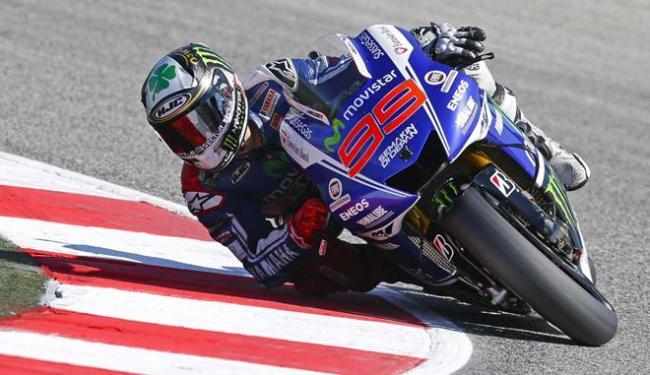 Lorenzo liderou o treino de classificação no circuito de Misano. - Foto: Max Rossi | Ag. Reuters