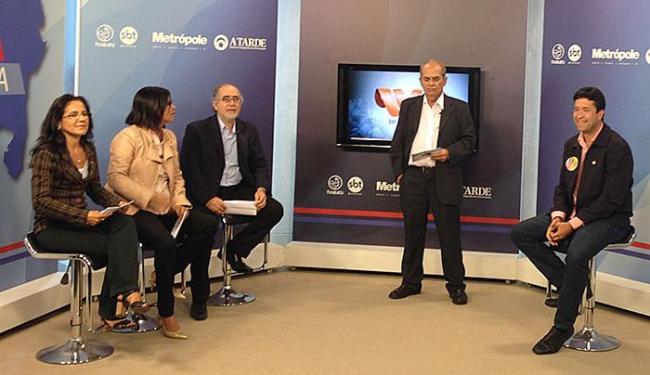Marcos Mendes foi o terceiro entrevistado da Sabatina A TARDE - Foto: Mariana Carneiro | Ag. A TARDE