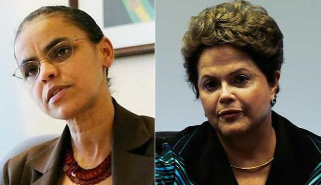 Marina e Dilma estão empatadas tecnicamente no 1º e 2º turnos - Foto: Divulgação - Ueslei Marcelino | Ag. Reuters