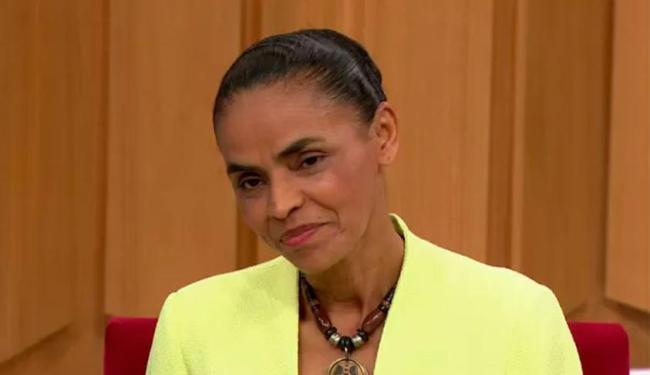 Marina explicou que foco é nos investimentos do BNDES a grupos restritos de empresários - Foto: Reprodução | Rede Globo