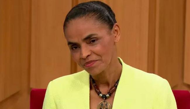 Marina pediu para que os aliados participem da campanha nas redes sociais da internet - Foto: Reprodução | Rede Globo