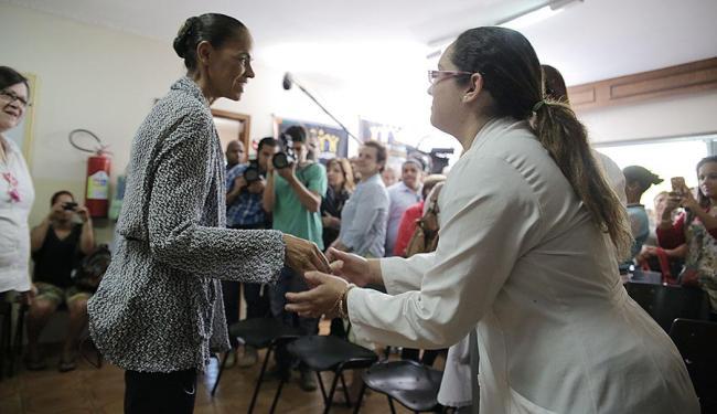 Marina visitou em São Paulo a Casa de Isabel, entidade filantrópica fundada em 2001 - Foto: Divulgação