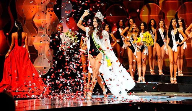 Melissa Gurgel vai disputar o Miss Universo 2014 em Miami Beach, nos EUA, representando o Brasil - Foto: Reprodução   Foto: Lucas Ismael