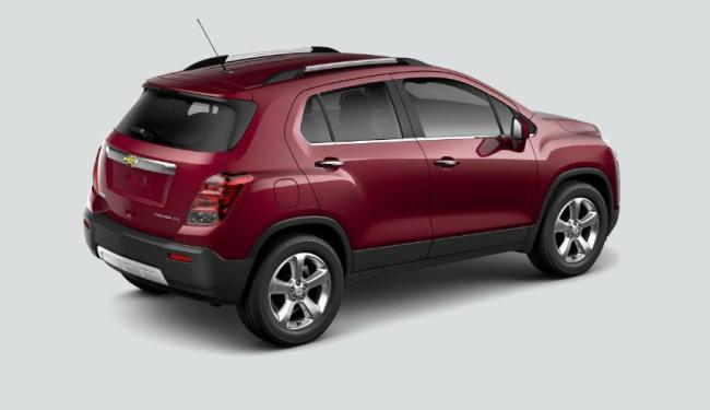 A Tracker 2015 vem com motor 1.8 Ecotec Flex, de 144 cavalos, e câmbio automático adaptativo de seis - Foto: Chevrolet | Divulgação